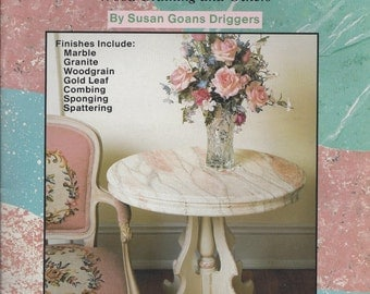 Beginner's Guide to Faux Finishes, 11 Hand Painted Finishing Techniques by Susan Goans Driggers