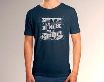 Star Trek Damn It Jim Men's T-Shirt