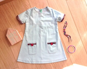 Mint green dress size 3T/4T, mint green dress 3-4 years, mint green toddler dress