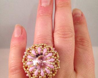 Gold ring handmade