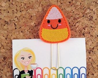Halloween Planner Accessories | CANDY CORN Bookmark | Paper Clip  |  Refrigerator Magnet | Cute Brooch Pin | Organizer  | 941
