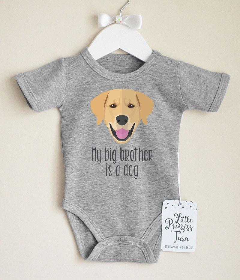 Cute Golden Retriever Baby Bodysuit Dog Baby Clothes Dog
