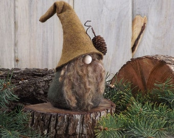 Woodland Gnome, Scandinavian Gnome, Nisse, Wizard, Elf, Nordic Gnome, Gifts for Her, Hostess Gift, Tomte, Felt Gnomes by The Gnomes Makers