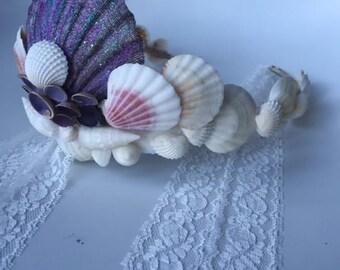 Sea shell crown // mermaid crown