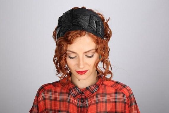 Winter Headband/Faux Fur Headband/Fake Fur Hat/Goth Wedding Bride/Geometric Hair Band/Gray Head Covering/Woman Gift/Steampunk Winter Hair