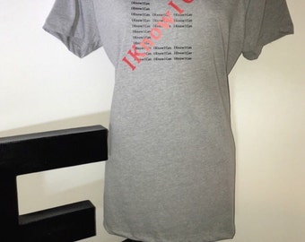 """ENOCAN Fitness Women's """"I Know I Can"""" Tee"""