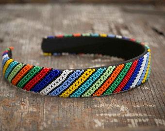 Beaded Headband - Handmade in Africa