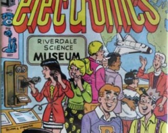 Archie Comic Book Archie Comics Vintage Comic Book Vintage Comics Archie and the History of Electronics Radio Shack Collectible Comic Book
