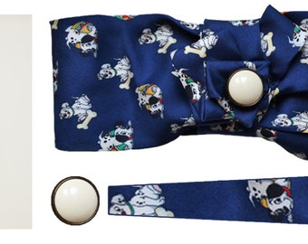 Disney made with hair tie Facia