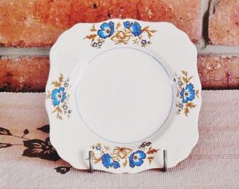 J & G Meakin England Jacobean Ware 1920s sandwich, side plate Art Deco