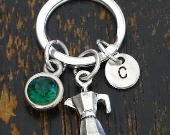 Espresso Keychain, Custom Keychain, Custom Key Ring, Espresso Charm, Espresso Pendant, Espresso Jewelry, Coffee Keychain, Coffee Lovers Gift