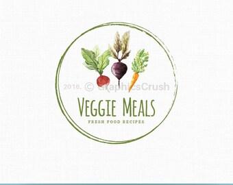 Food Logo Veggie Logo Vegan Logo