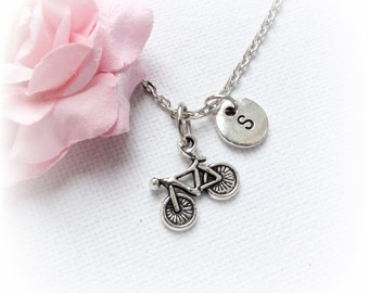 Bicycle Necklace, bike necklace, bicycle Jewellery, bicycle Charm Jewelry,Personalised jewelry,initial necklace,handmade necklace,SPMCINBUD2