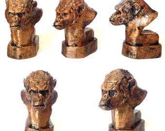 Koba Ape Resin Cast Sculpture