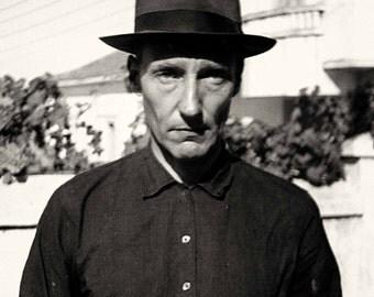 William S Burroughs beat generation beatnik photo print poster naked lunch jack kerouac alan ginsberg author writer poet artist icon junkie