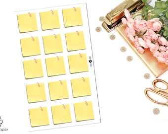 Post It Note Planner Stickers