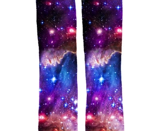 Magellan Nebula Cool Space Socks