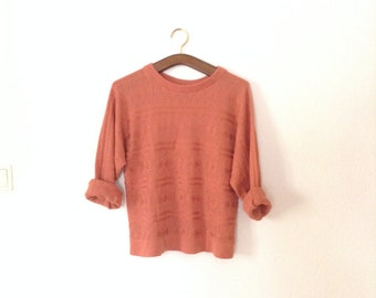 SALE Pale Pink Vintage Sweater