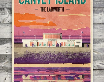 Canvey Island - The Labworth - Poster (A4 & A2 sizes)