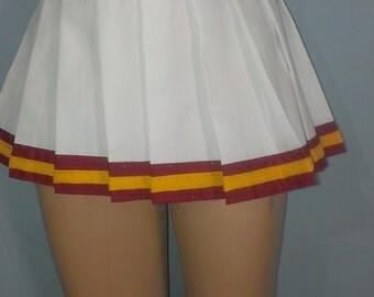 Ultra Short Skirt Song Girls Trojan Cheerleader Uniform Fancy Halloween Costume
