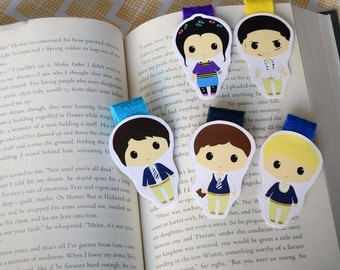 The raven boys magnetic bookmarks