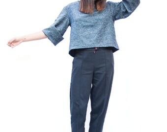 Wool Kimono Sweatshirt