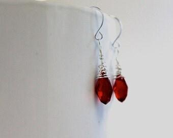 Serah Crystal Earrings