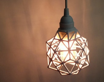 pendant pendant light plug in 3d printed industrial lighting. Black Bedroom Furniture Sets. Home Design Ideas