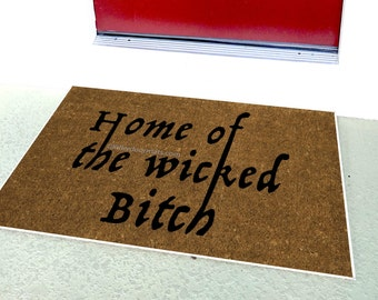 Funny doormats Etsy