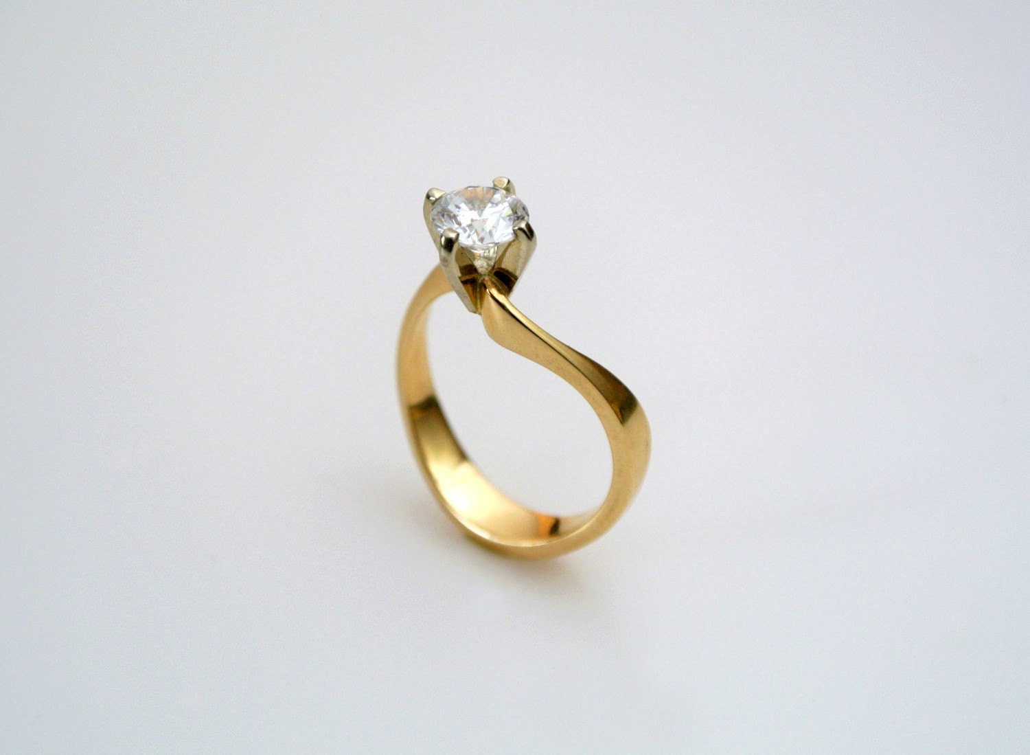 Simple Engagement Ring Dainty Engagement Ring Simple