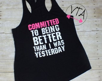 Workout Clothes for Women, Women's Workout Tank Top | Womens Inspiration Clothing | Fitness Tank | Womens Gym Tank Top