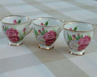 Royal Stafford Tea Cups