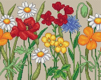 summer wild flowers draught excluder