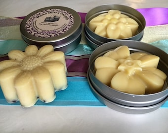 Fruit-Scented All Natural Solid Lotion Bar