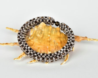 Cubic RAW bracelet - Bangle/ Bracelet/ Cuff Beading