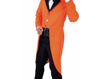 Orange Tailcoat - Clown / Holland / Dutch