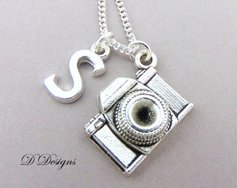Camera Necklace, Camera Pendant, Photographers Necklace, Camera Jewellery, Personalised  Necklace, Camera Gifts, Photography Gifts