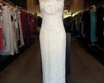 Mandy;engagement dress, wedding dress, lace dress