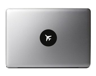 Macbook Decal - Aeroplane Vinyl Sticker