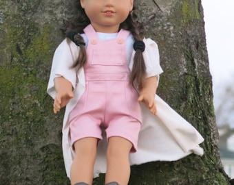 American Girl Doll White Flowy Kimono