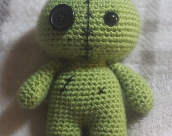 custom crochet zombie doll