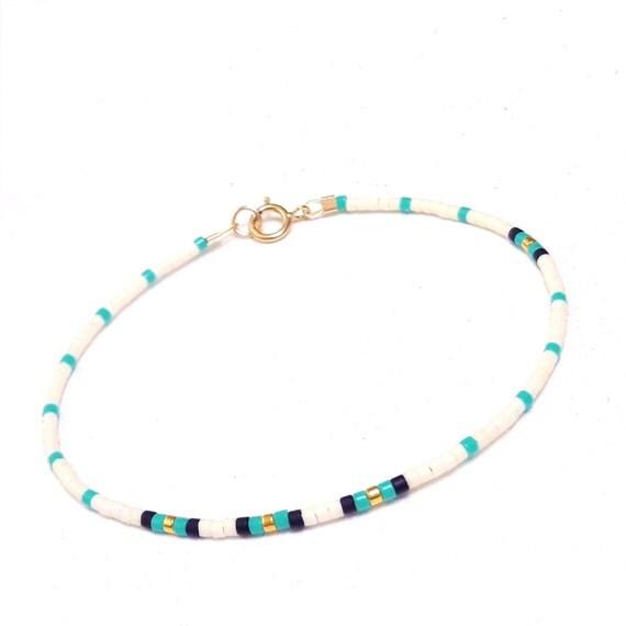 Delicate friendship Bracelet Bead Layering Bracelet Delicate bracelet ...