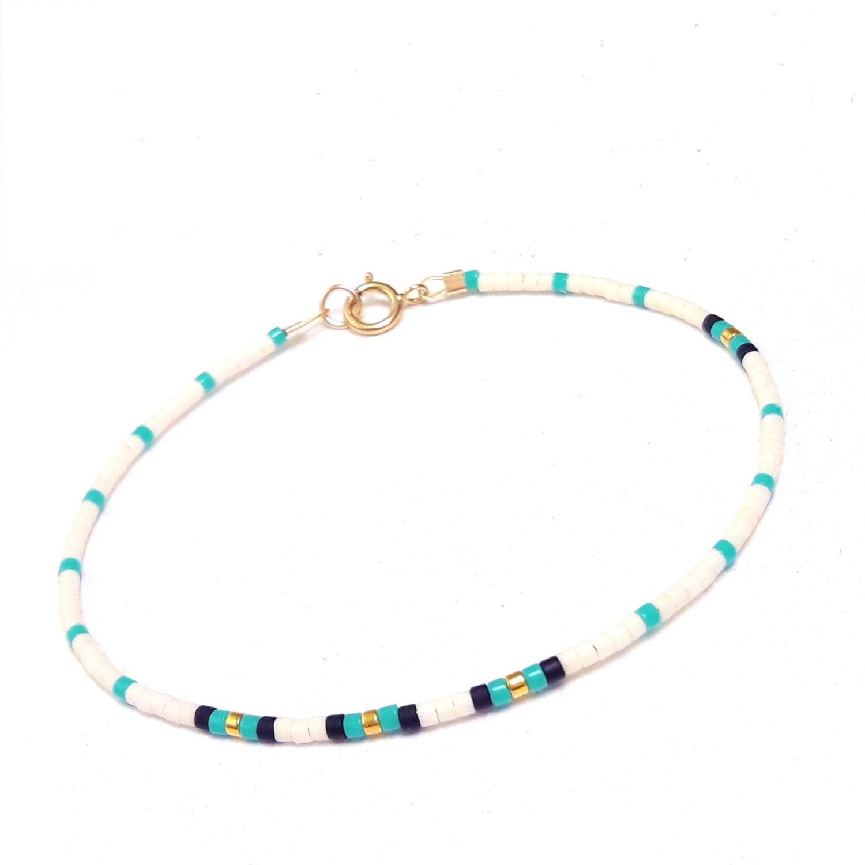 Delicate friendship Bracelet Bead Layering Bracelet Delicate