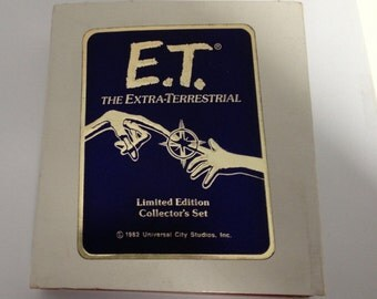 E.T. the Extra-Terrestrial Limited Edition 1 Troy OZ SILVER Coins (set of 4)