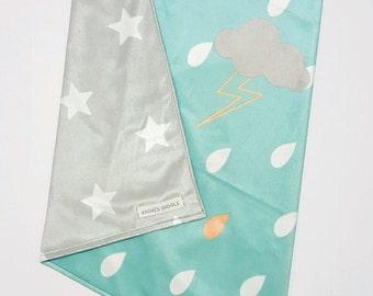 SALE!!Baby blanket / Pram, Stroller blanket / minky baby blanket