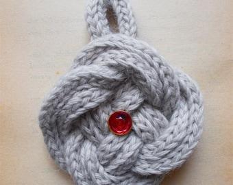 Wool pendant