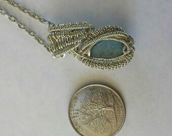 Mini Opal Wire Wrap.