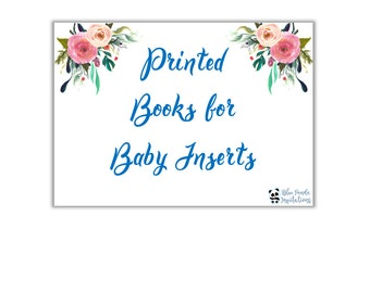 Books for Baby Insert - Generic Listing
