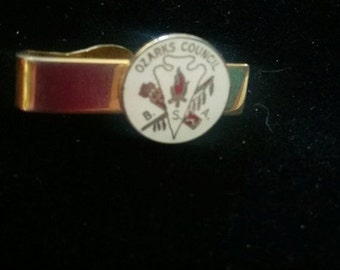 Boy Scouts of America Ozark Council Tie clip