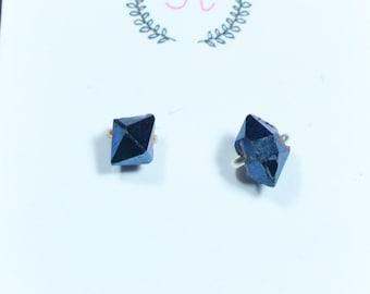Herkimer diamond studs herkimer studs herkimer earring studs diamond herkimer studs herimer diamond studs crystal herkimer stud delicate